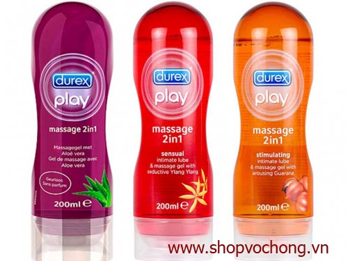 gel bôi trơn durex play masage 2 in 1